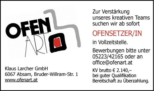 Ofensetzer/in