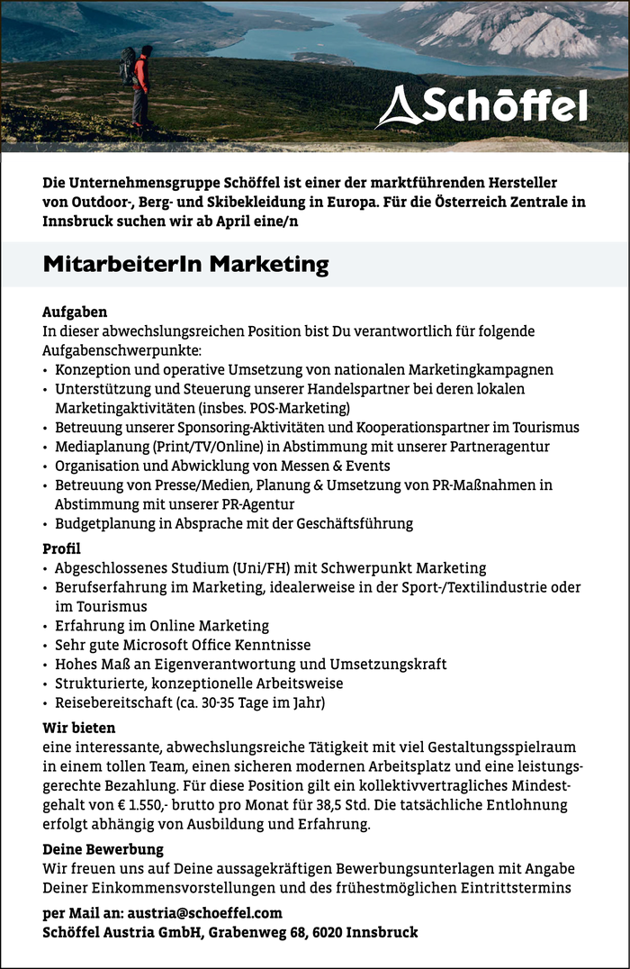 Mitarbeiterin Marketing