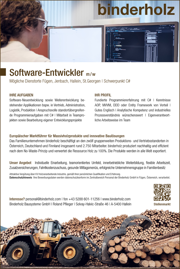 Software-Entwickler (m/w)