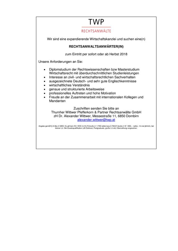 rechtspflegerin und rechtsanwaltsanwrterin - Rechtspfleger Bewerbung