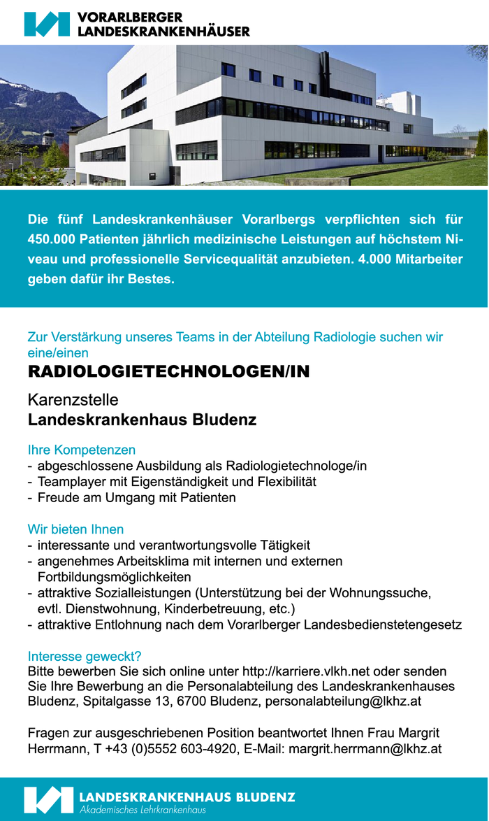 RADIOLOGIETECHNOLOGEN/IN