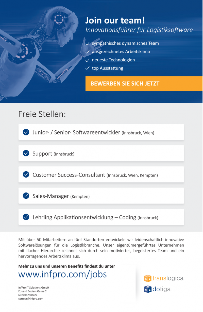 InfPro IT Solutions GmbH sucht...