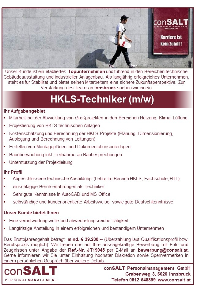 HKLS-Techniker/in
