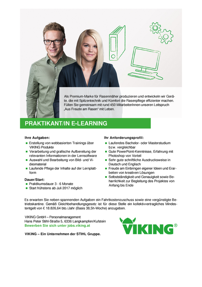 Praktikant/in E-Learning