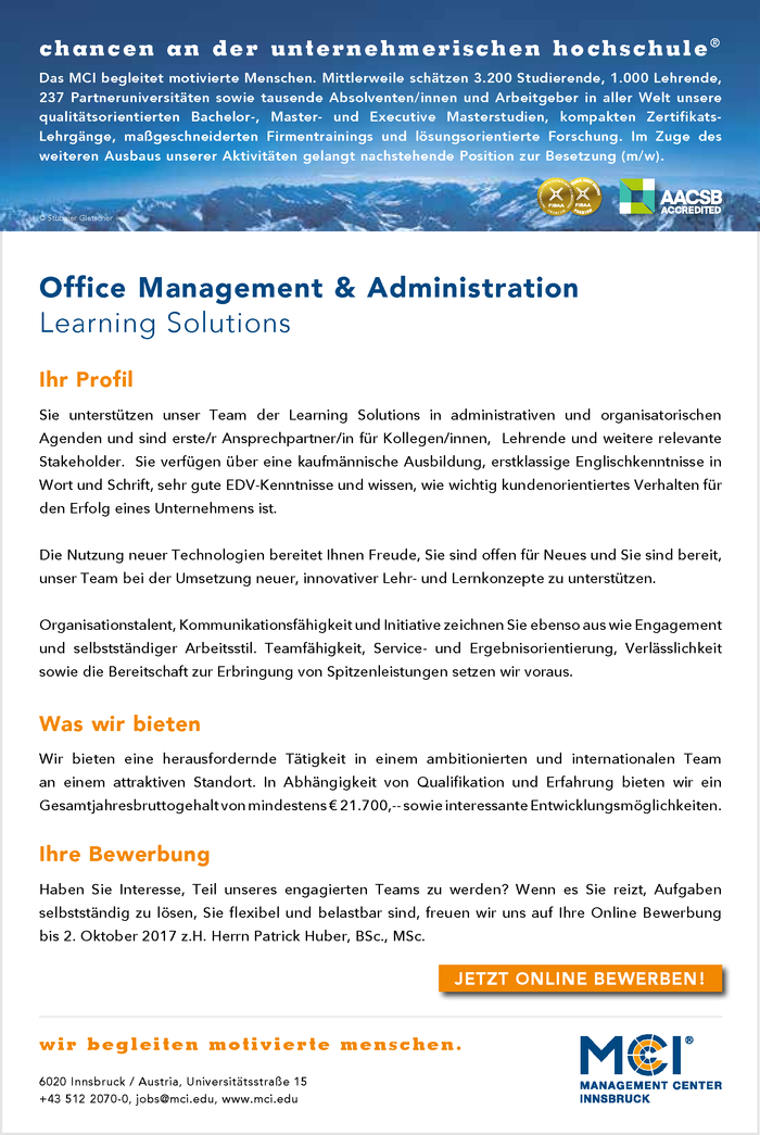 Office Management & Administration