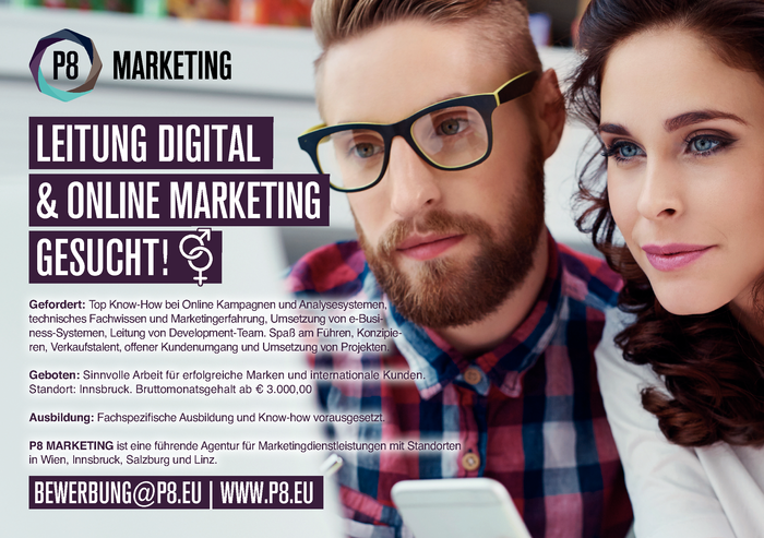 LEITUNG DIGITAL & ONLINE MARKETING