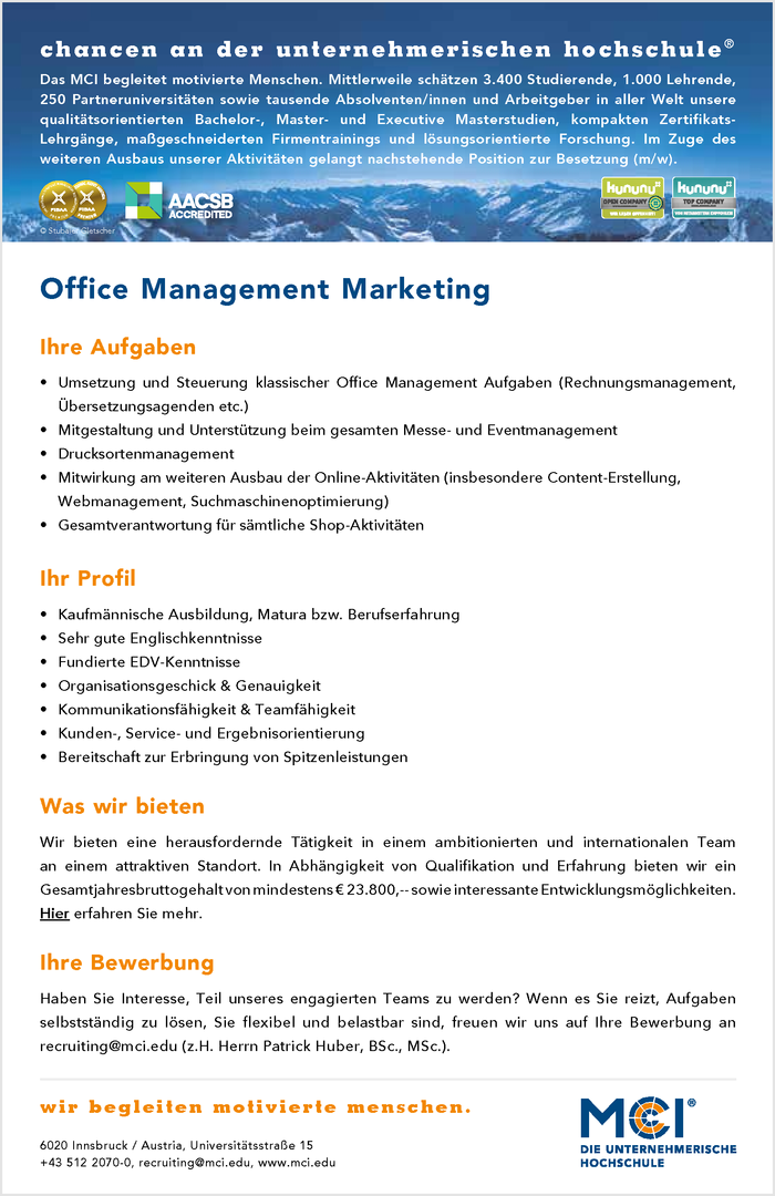 Office Management Marketing