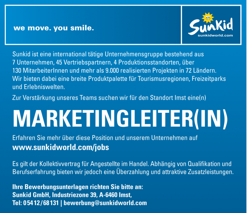 Marketingleiter(in)