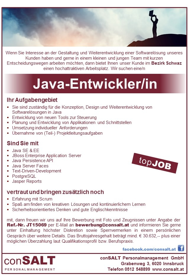 Java-Entwickler/in