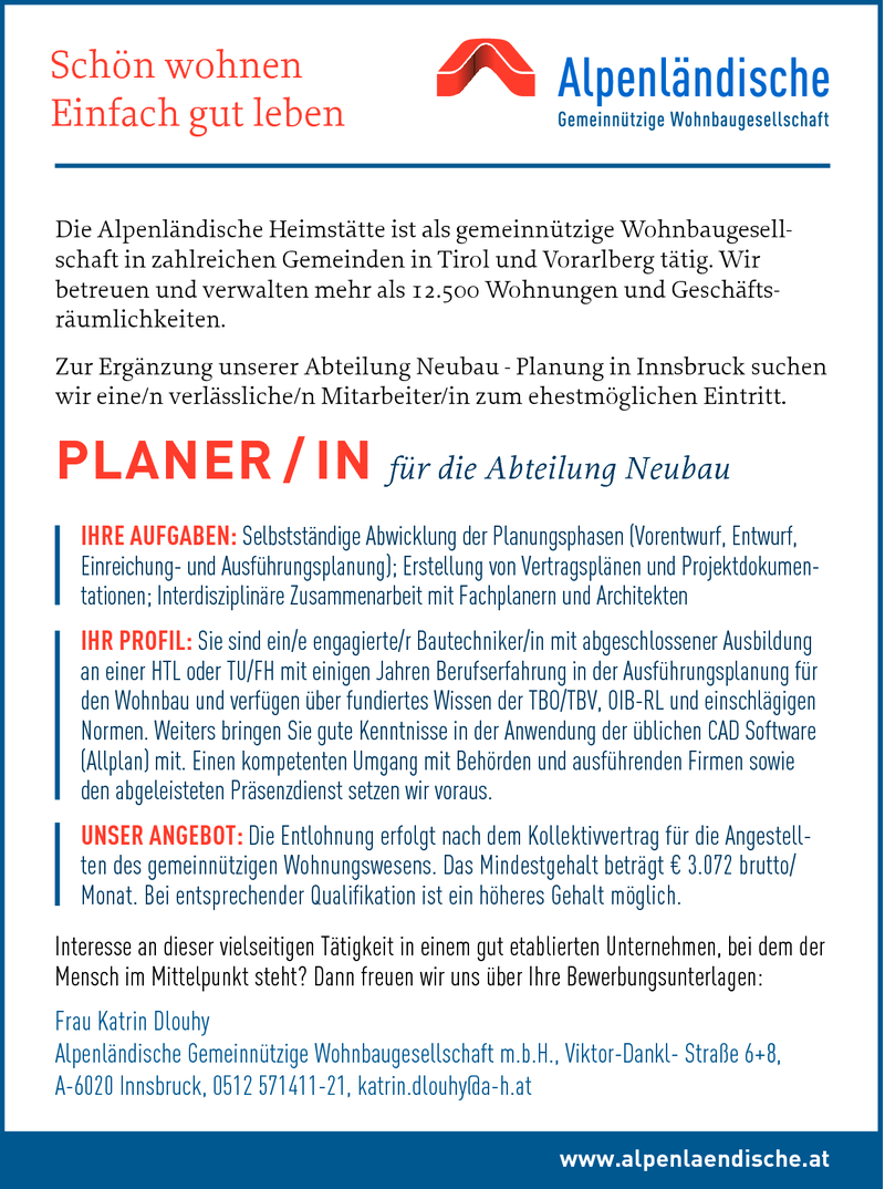 PLANER / IN