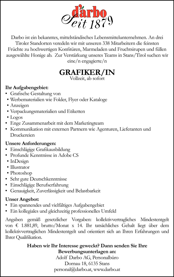 Grafiker/in