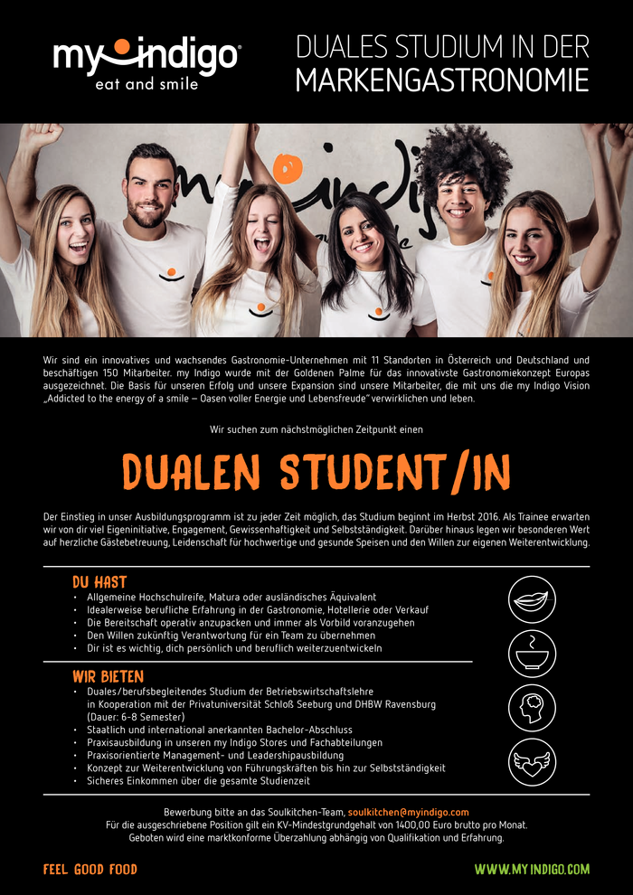 Dualen Studenten(in)
