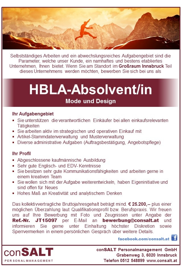HBLA-Absolvent/in