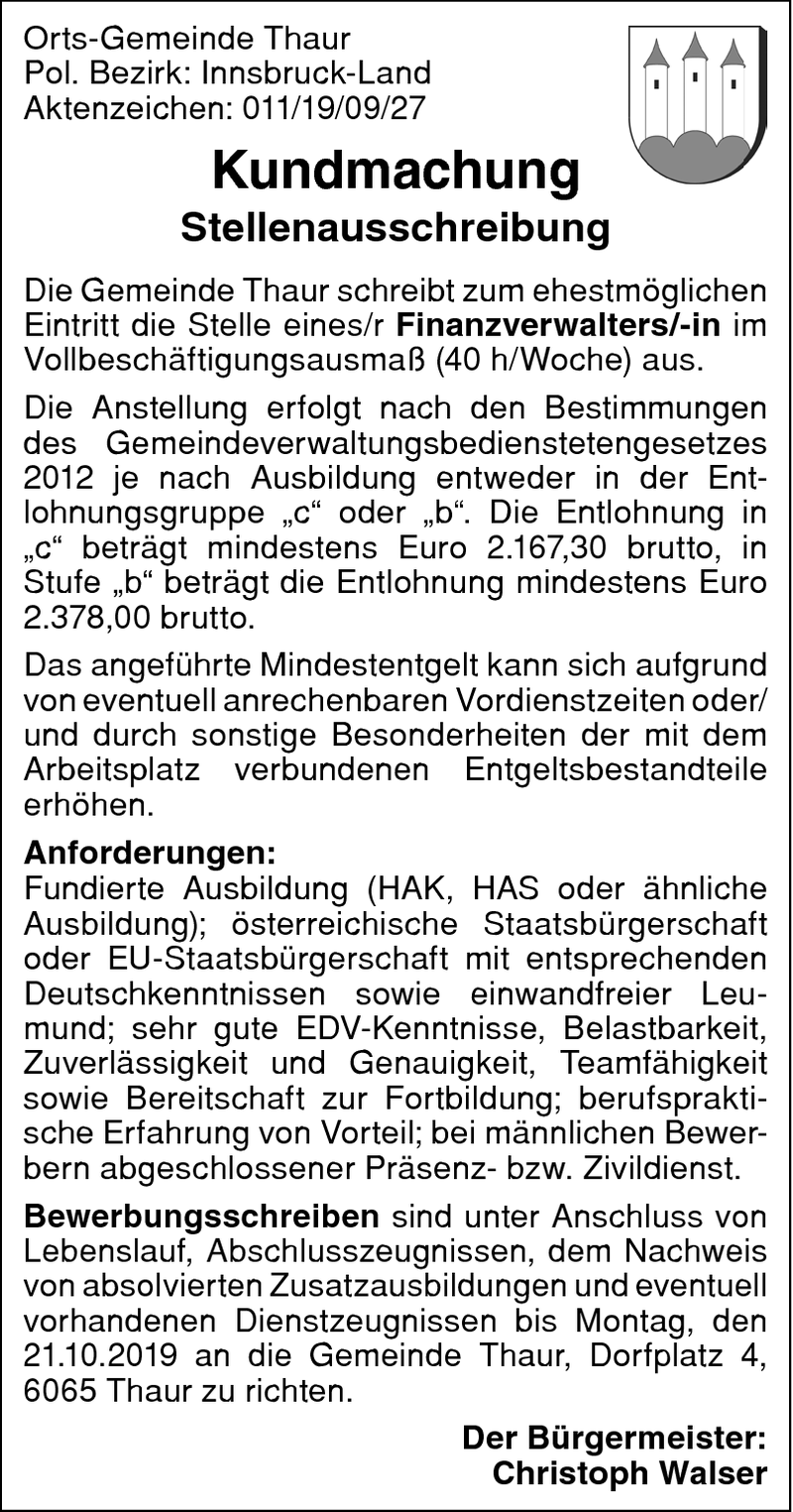 Finanzverwalter/in