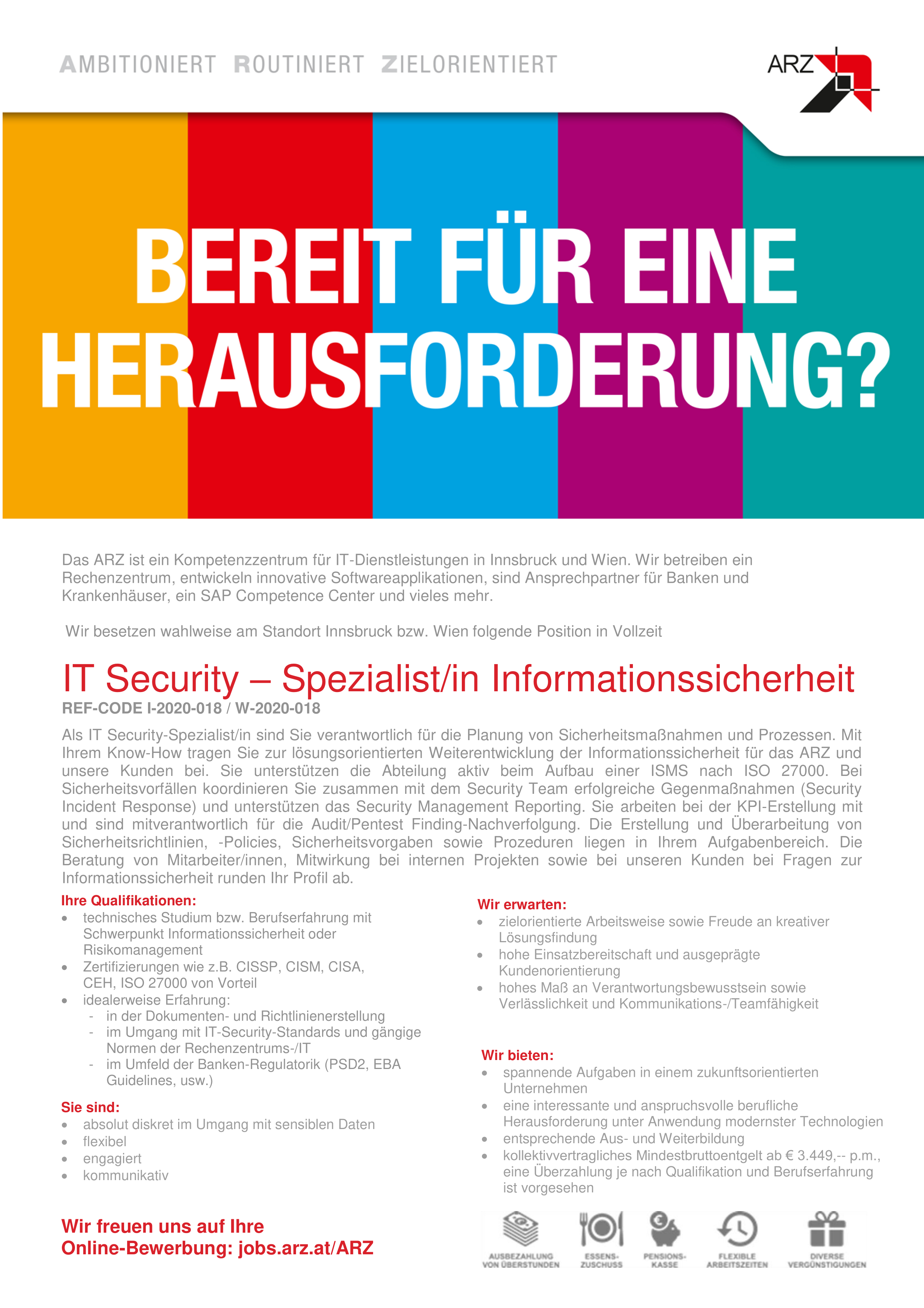 IT-Security-Spezialist/in Informationssicherheit