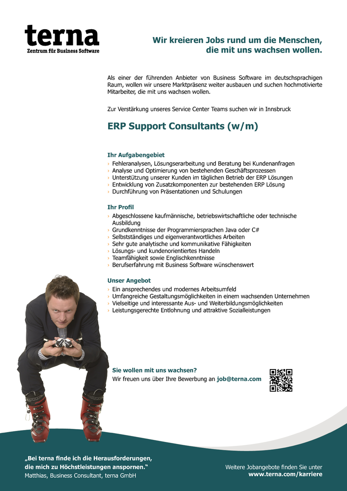 ERP Support Consultants (w/m)